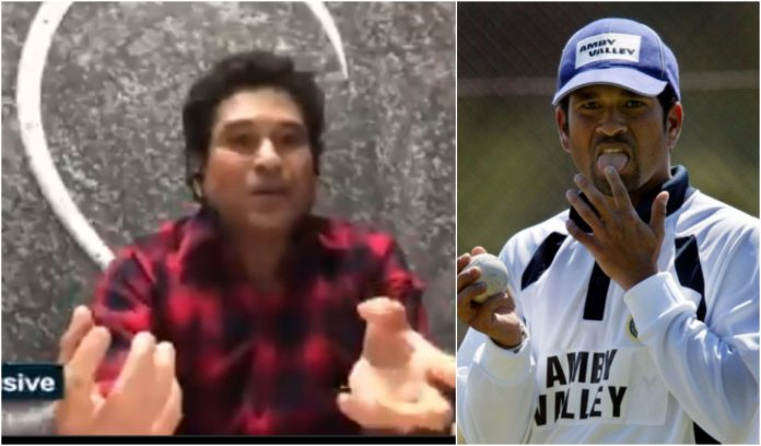 Sachin Tendulkar's alternative for Saliva in cricket