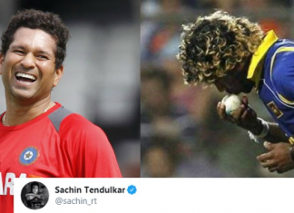 Sachin Tendulkar trolls Lasith Malinga