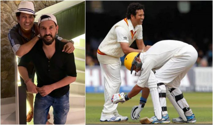Sachin Tendulkar Recalls First Memory With Yuvraj Singh