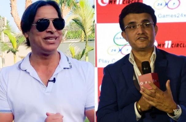 Shoaib Akhtar praises Ganguly as best captain