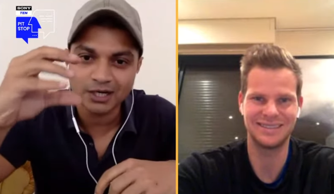 Steve Smith chat session with Sony Ten Pitstop