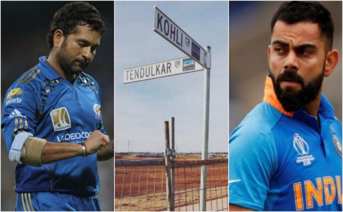 Streets on the name of cricketers in Australia