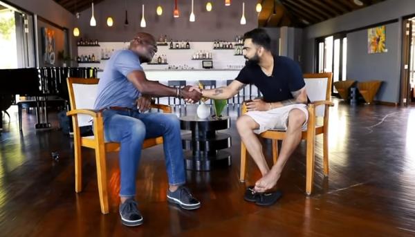 Virat Kohli interviews Viv Richards