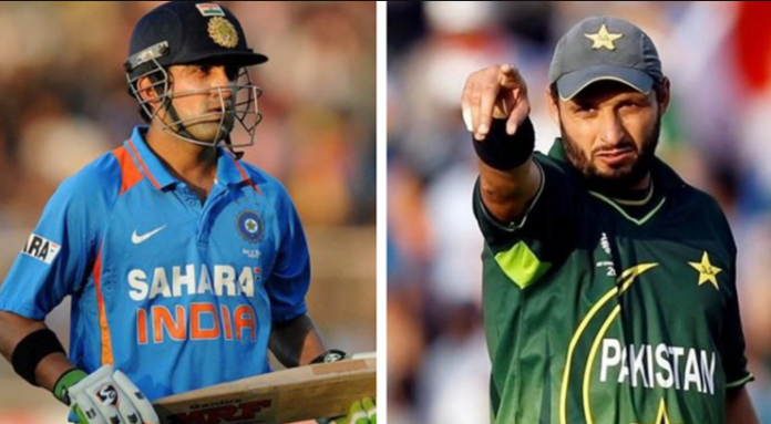 Gambhir Reacts After Afridi Tests COVID-19 Positive