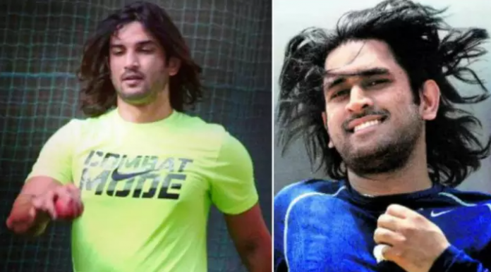 Dhoni's fan pays tribute to Sushant
