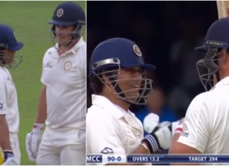 Finch Recalls Batting with Sachin at Lord's in 2014