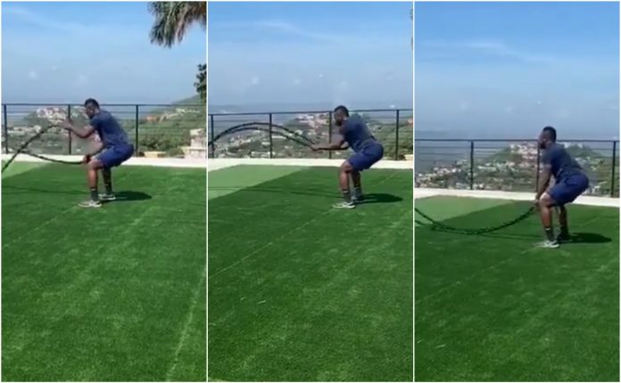 Andre Russell workout