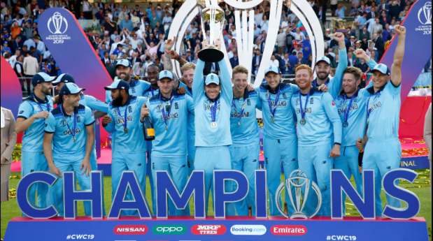 England lifts world cup 2019