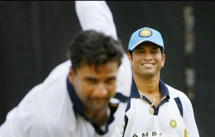 Sachin Tendulkar funny moment with Srinath