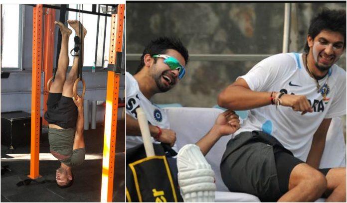 Kohli trolls Mayank Agarwal's Upside-Down Training