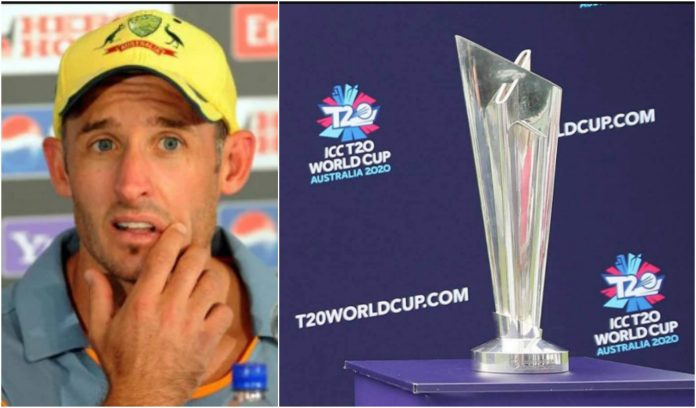 Michael Hussey on T20 world cup