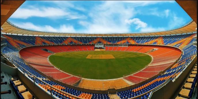 new Sardar Patel Gujarat Stadium known as Motera Stadium