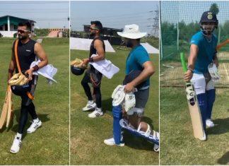 Rishabh Pant and Suresh Raina Begin Training Together