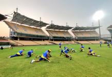CSK training camp in Chennai