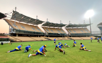 CSK training camp in Chennai