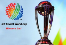 cricket world cup winners