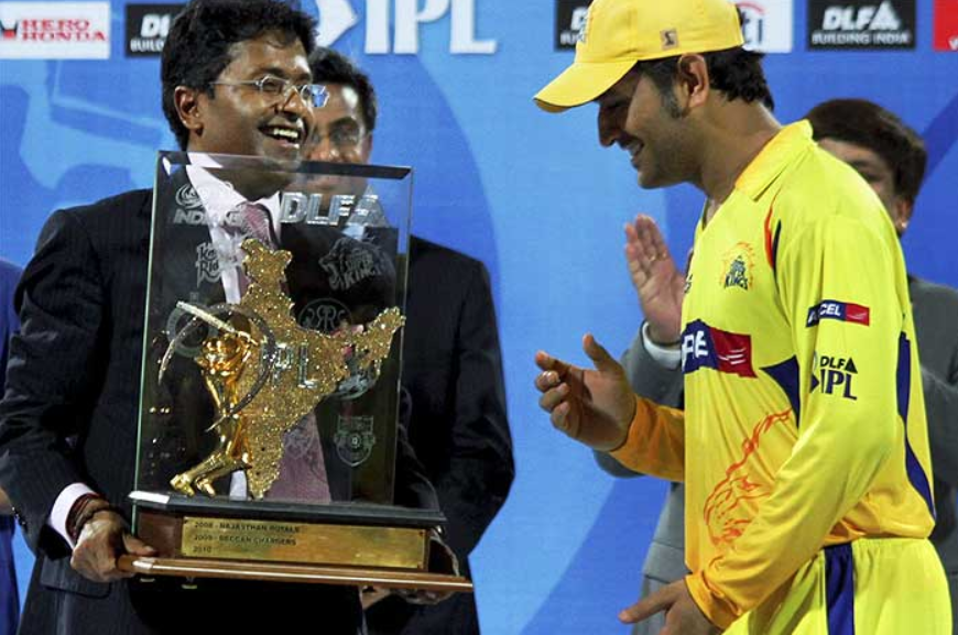 CSK win the IPL 2010 title