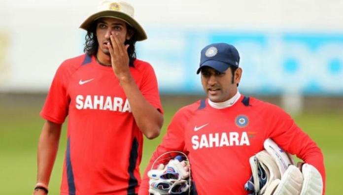 Ishant's experience on playing under Dhoni and Kohli