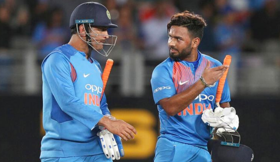 Rishabh Pant made his ODI debut against the West Indies