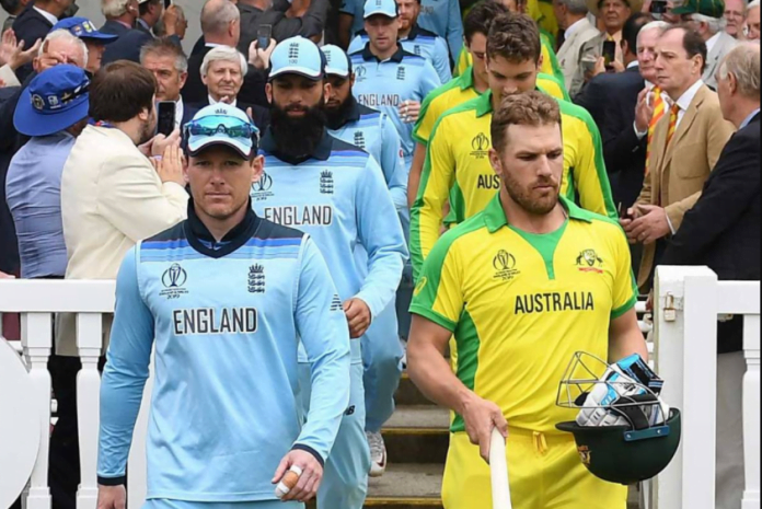England vs Australia Schedule