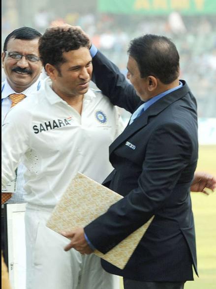 Gavaskar praises Sachin