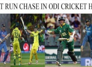 Highest Run Chase in ODI format