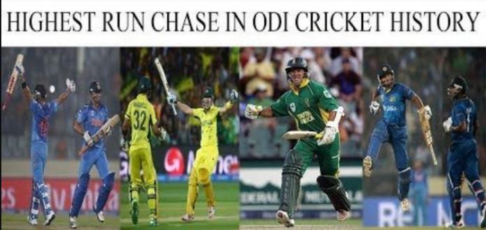 Highest Run Chase in ODI format