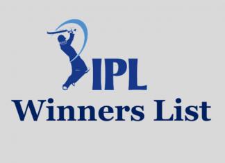 IPL winners list since 2008