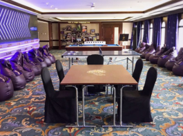 Photo of KKR Team Room In Abu Dhabi
