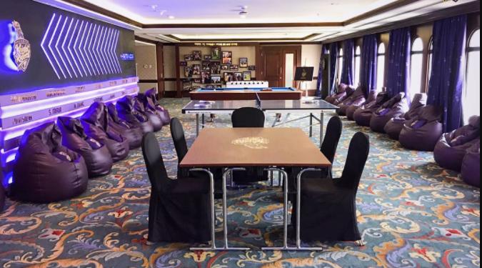 Photo of KKR Team Room In Abu Dhabi