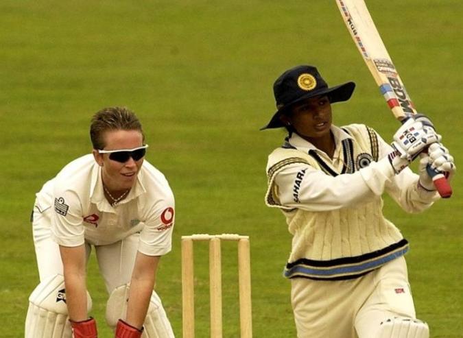 Mithali Raj scores 214 runs Against England at Taunton