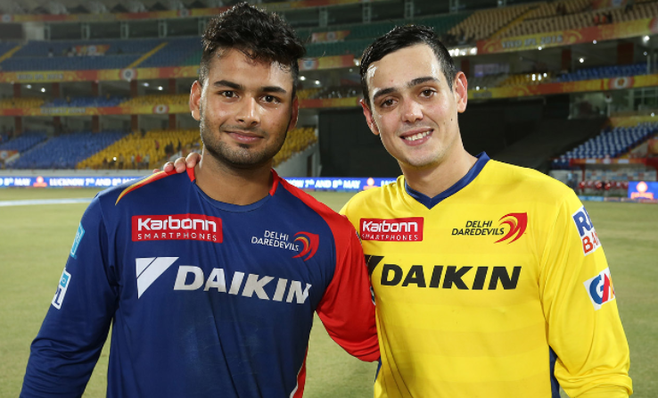 Rishabh Pant plays for Delhi Daredevils in 2016 IPL