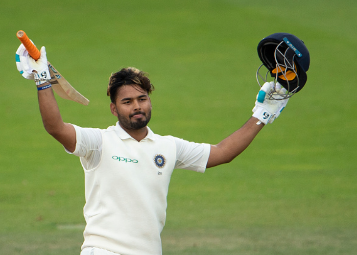 Rishabh Pant made his test debut against Engalnd where he scored an impressive maiden TON