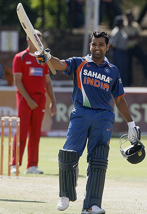 Rohit Sharma Biography : Rohit Sharma received his first ODI call-up against Ireland on 23 June 2007.