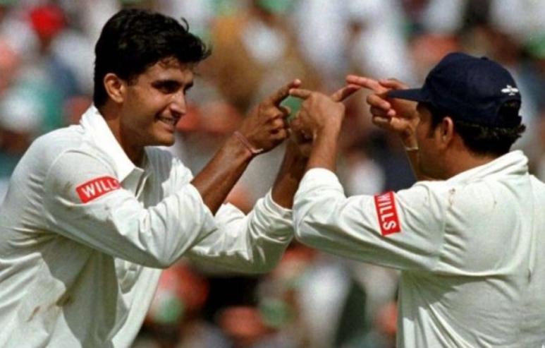 Ganguly and Sachin Tendulkar