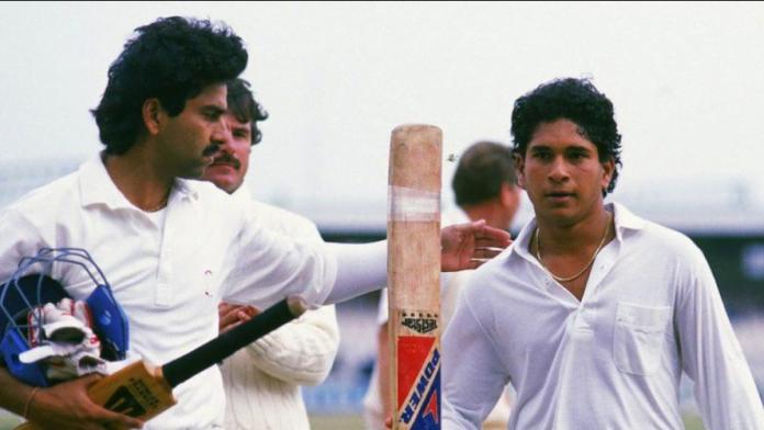 Sachin Tendulkar's Maiden Test century