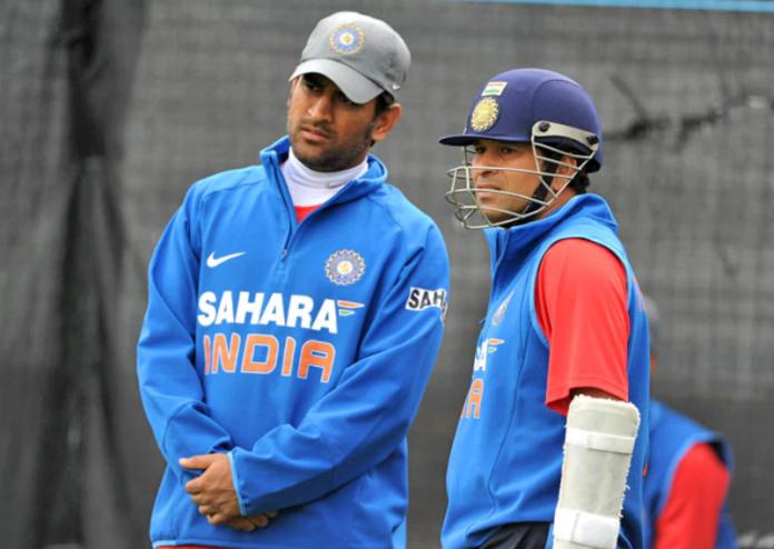 Sachin Tendulkar replies to Dhoni's retirement announcement