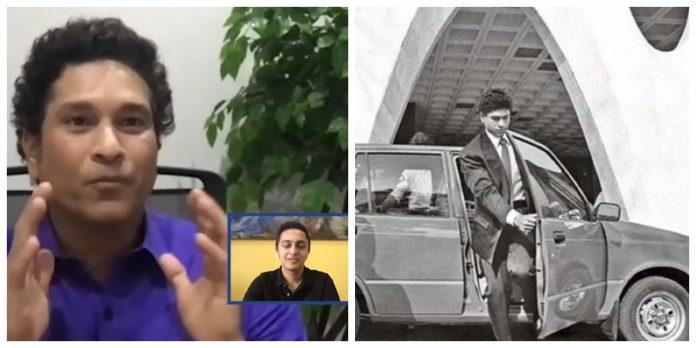 Which is Sachin Tendulkar's first car