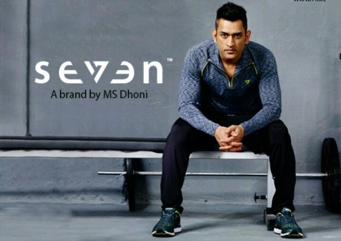 Dhoni owns Seven brand
