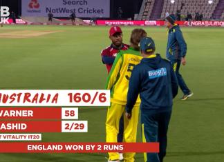 England vs Australia 1st T20I Highlights