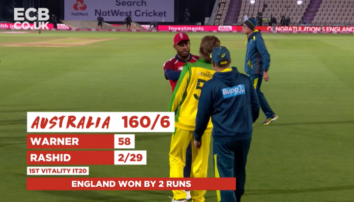 England vs Australia 1st T20I Highlights