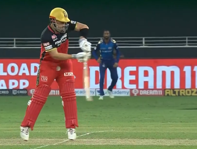 IPL 2020 RCB vs MI Finch injury