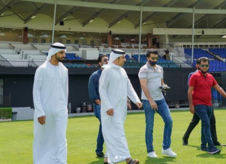 Ganguly reaches UAE