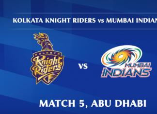 IPL 2020 KKR vs MI