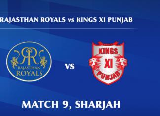 IPL 2020 RR vs KXIP