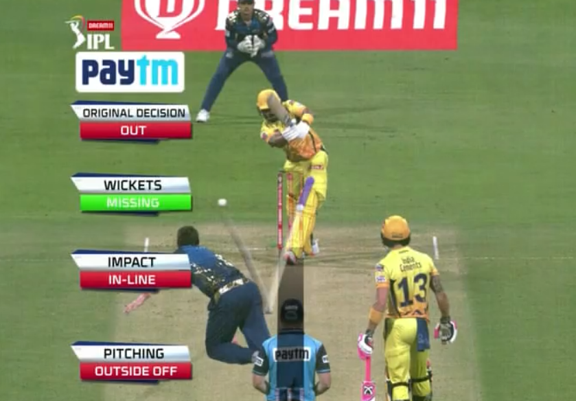Murali Vijay wicket