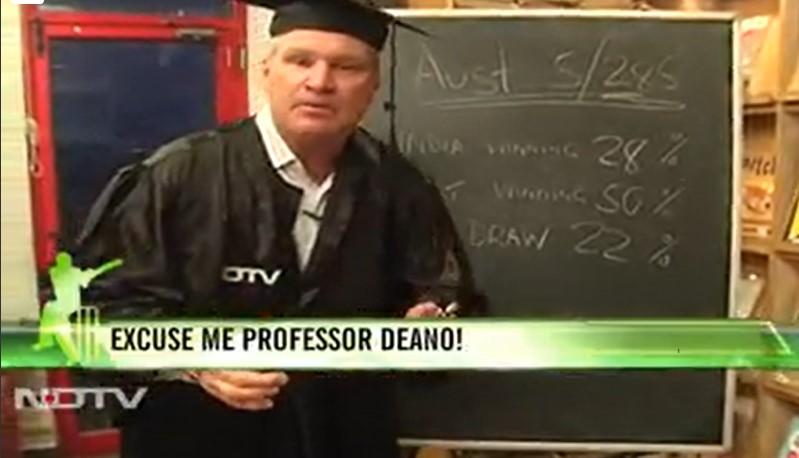 Professor Deano - The Dean Jones Show in NDTV
