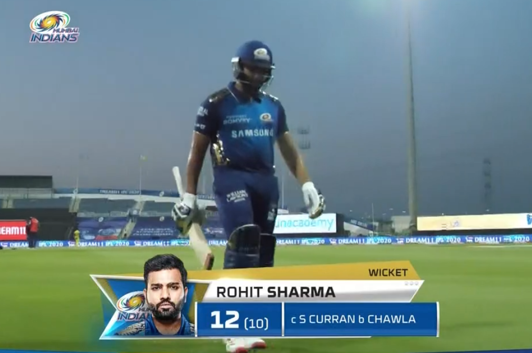 Rohit Wicket