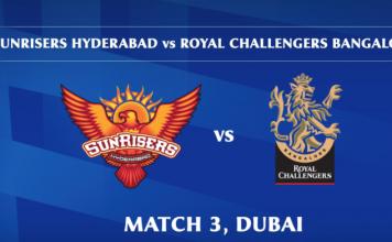 IPL 2020 SRH vs RCB