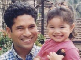 Sachin Tendulkar Throwback Photo With Sara